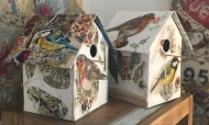 Mixed Media Bird Boxes