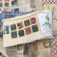 Mixed Media Textile Books